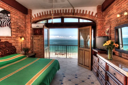 1 BR beachfront Vallarta Shores #6