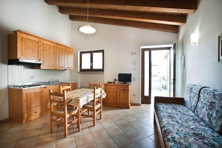 studio with kitchenette near Garda lake