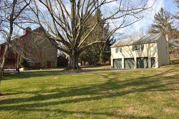 Cottage Apt on 5 acre County Estate - Zionsville - Apartment