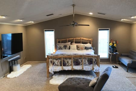 Relax and luxury master bedroom