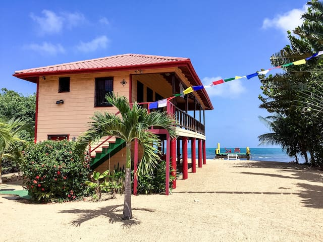 Compass Rose Guest House~Belize - Hopkins - House