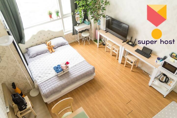 2min from Seoul station superhost cozy JaneHouse - Yongsan-gu - Pis