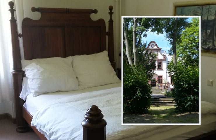 Herrenhaus Schmölen - Doppelzimmer / double rooms - Bennewitz - Castillo