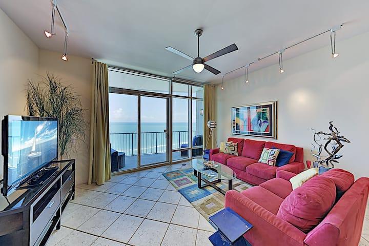 Luxury Sapphire Condo with Gulf Views
