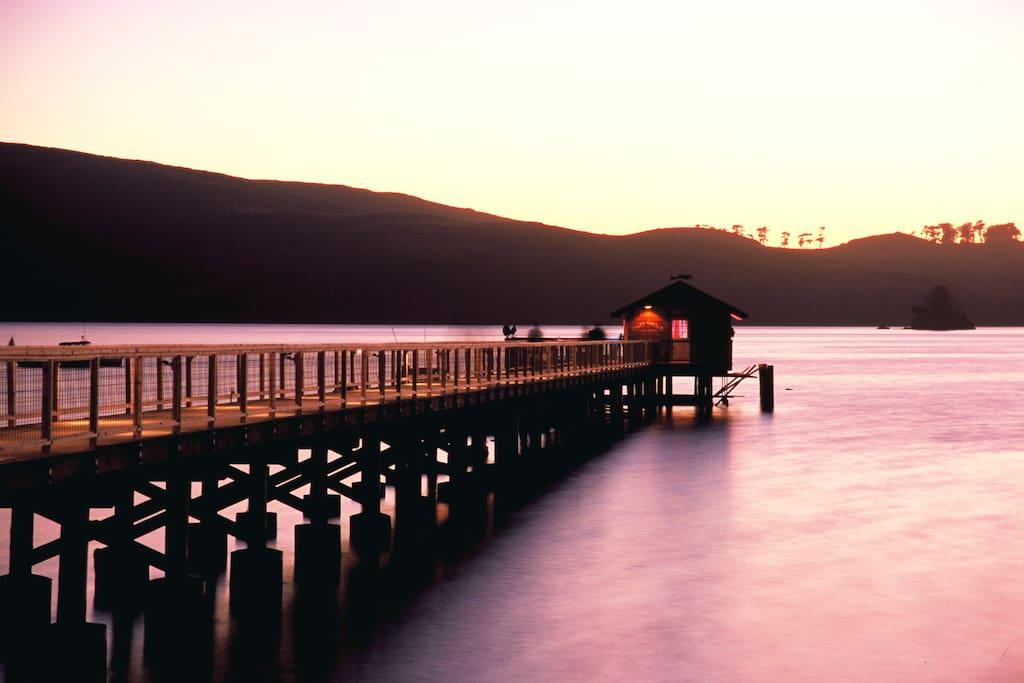 Nick's Cove Pier