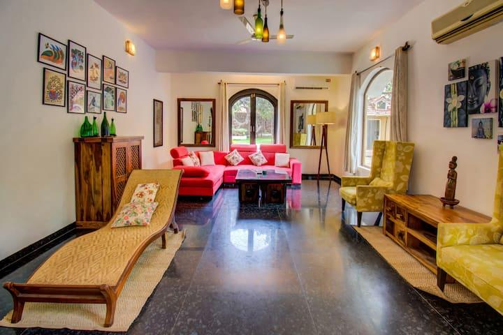 Villa Mandrem - luxury 1 acre 4BHK estate