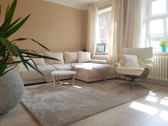 Helle zwei Zimmer Wohnung im Zentrum Kiel's