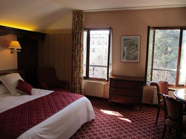 Chambre double avec accès au spa