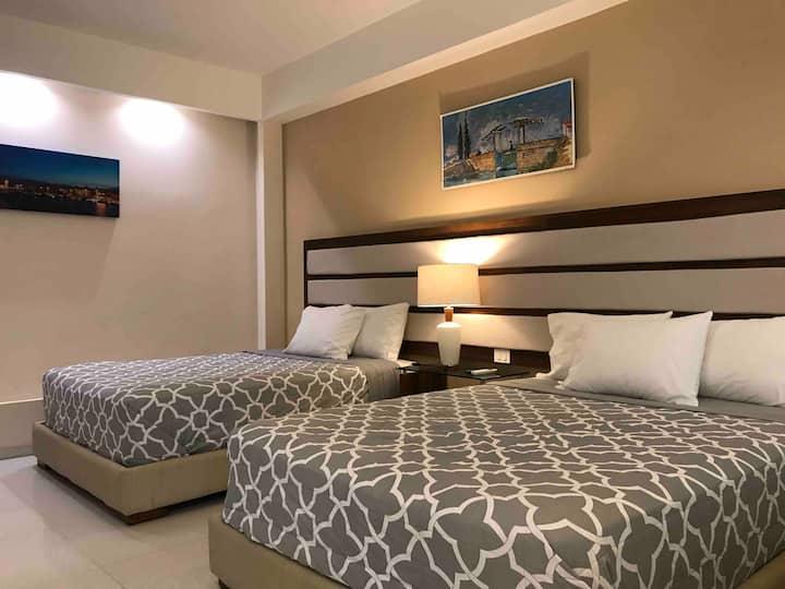 Encantadora y espaciosa habitación privada