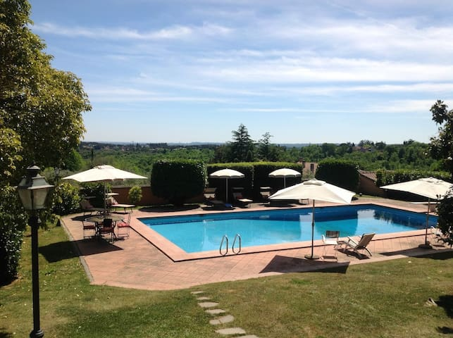 Villa Branka just minutes from Rome - Sacrofano