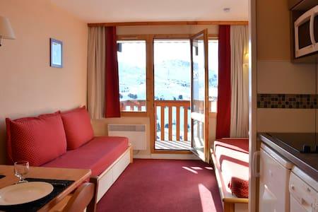 Studio ski au pieds à Belle Plagne - Mâcot-la-Plagne