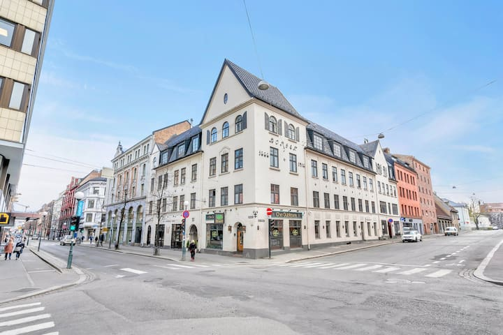 Unique apartment with 6-7 bedrooms in the prime central location - right in between Oslo Cental Station and Aker brygge. Excellent for share!