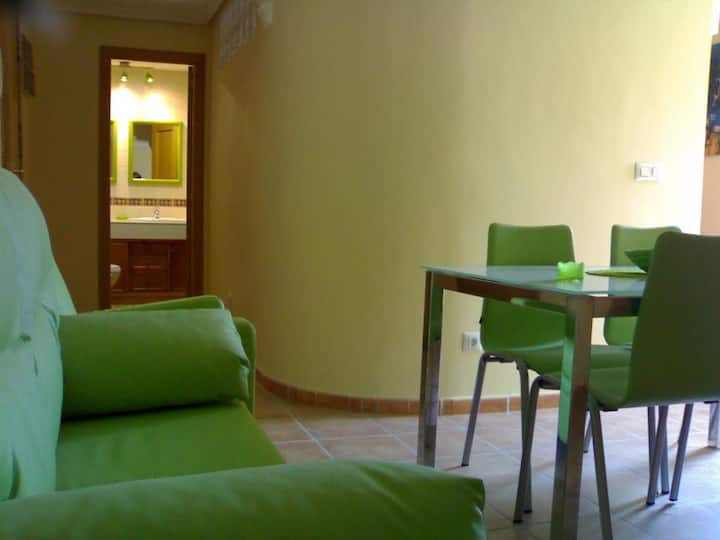 Triple apartment - double and single bed. 1