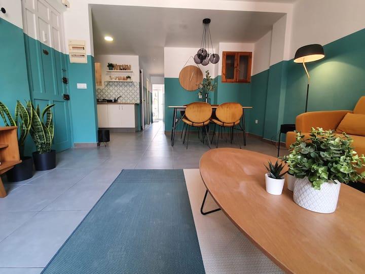 Apartamento estilo años 50. Viva el Rock
