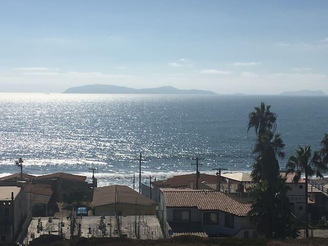Casa con vista al mar, autopista Tijuana-Rosarito