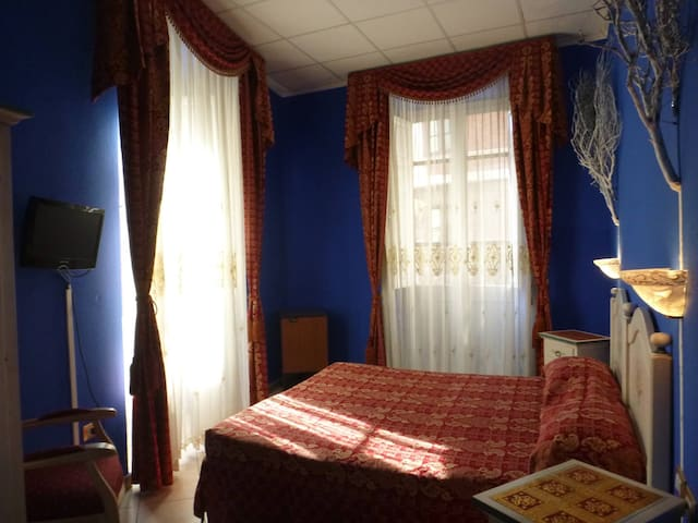 Blue Winter room can be double or twin on demand