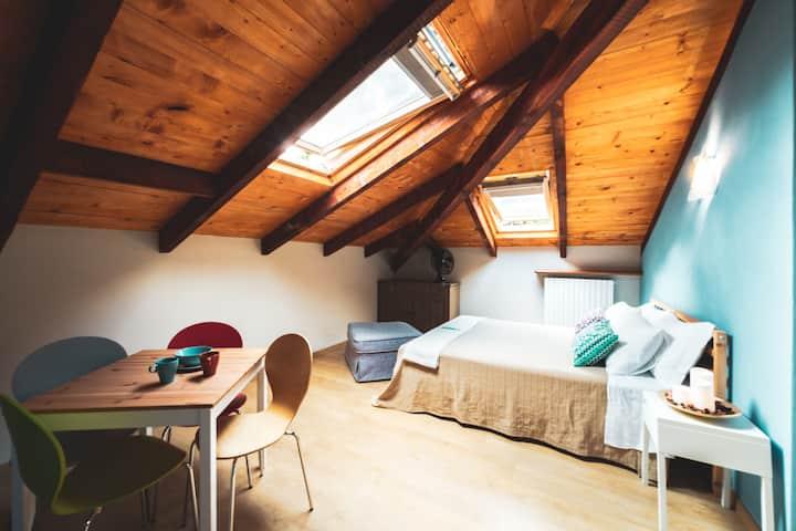 Casa Danoi - Medium room with extra room (family)