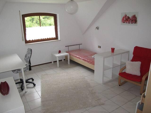 Gut übernachten im modernen Zimmer - Villingen-Schwenningen - Wohnung