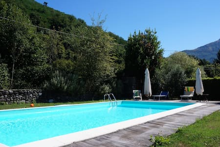 """""""Ambra"""" Apartment with parking,pool and garden!! - Lucca - Apartemen"""