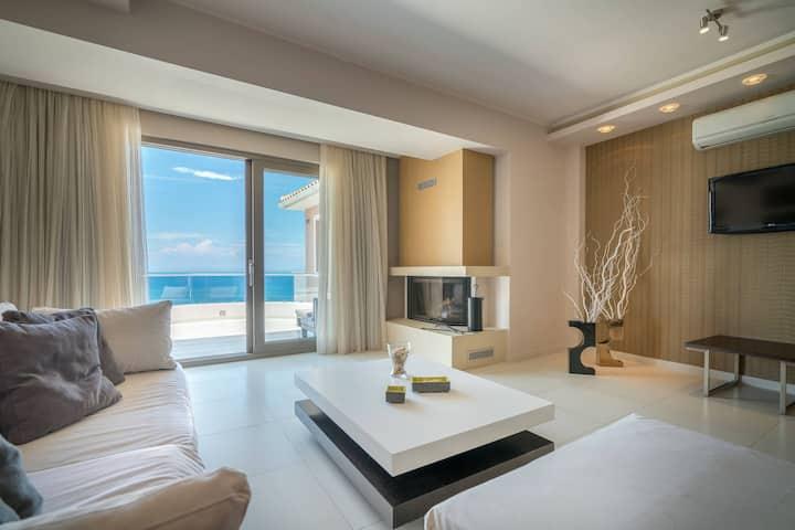 Kymothoe Elite | Master Suite | Sea View [110 m²]