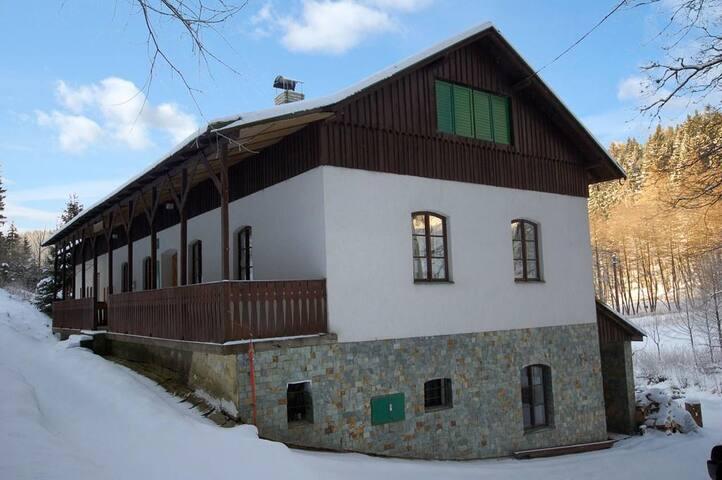 Chata Černý Důl - Rudník - Almhütte