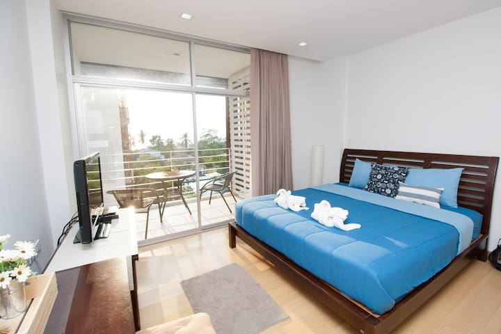 At sea view condo @ Klong muang beach - Ao Nang - Huoneisto