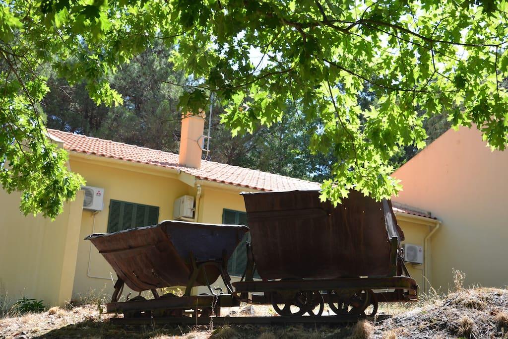 Villas ferrominas douro sabor t2 maisons de ville for Villas quinta minas