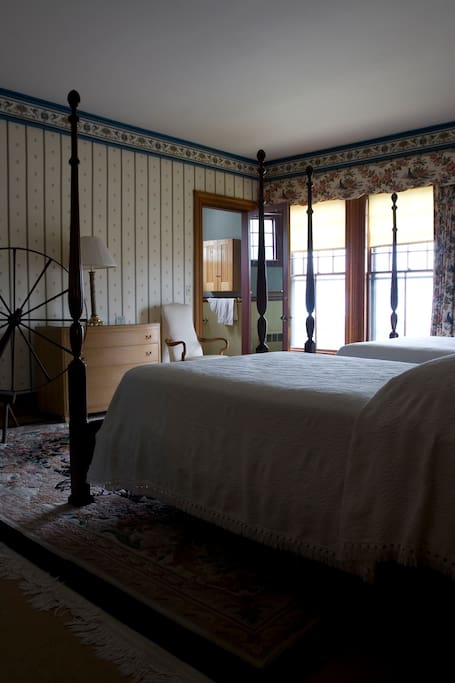 Cumberland Room.  Two Queen sized beds, privet bath.