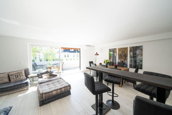 Luxury Penthouse close to fair Essen / Duesseldorf