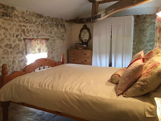 Master bedroom. Mind your head