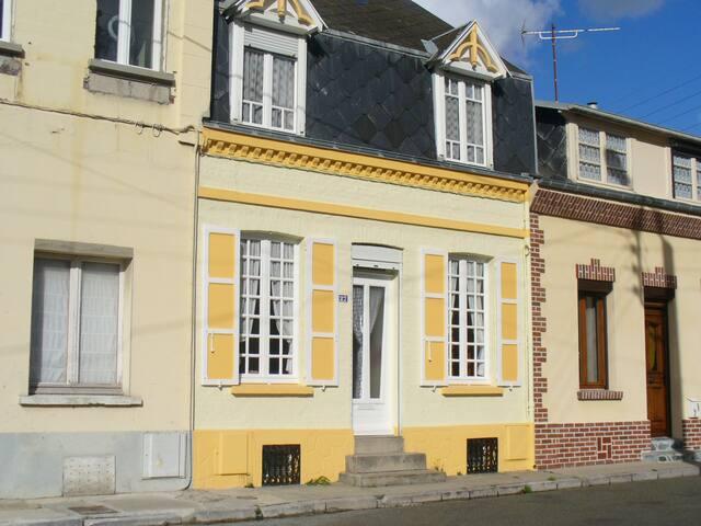Villa stepilane à 300 m de la mer - Cayeux-sur-Mer