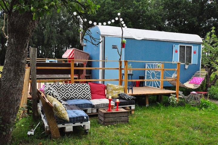 Bauwagen'2 bei Hamburg - Das Leben ist ein Ponyhof