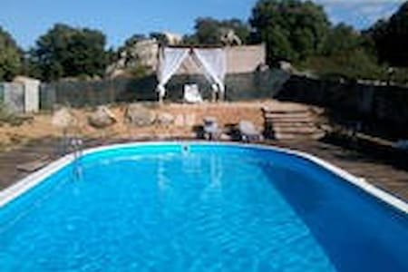 house 10 seats in the country +pool - Calangianus - House