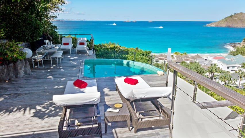 Villa Terava 1 Bedroom Seaview St Barth - Gustavia - Villa