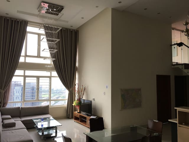 Amazing Penthouse with pool! - Ho Chi Minh-byen - Apartamento