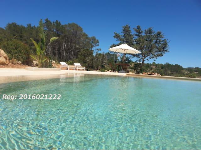 Ibiza - Rural Oasis (Santa Inés), 4+2pax - Santa Agnès de Corona - Dom