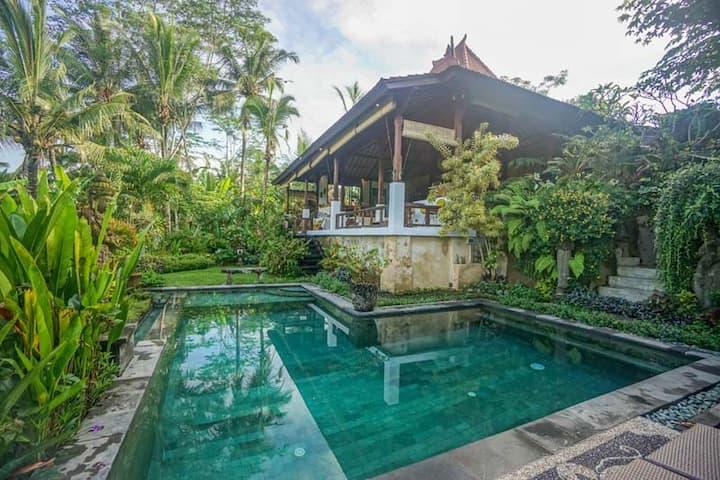 Joglo villa set in Paradise