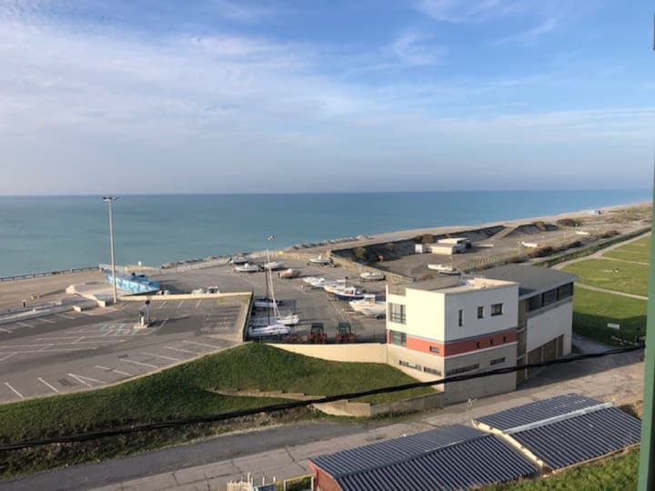 Appartement pleine face mer/plage et Hable d'Ault