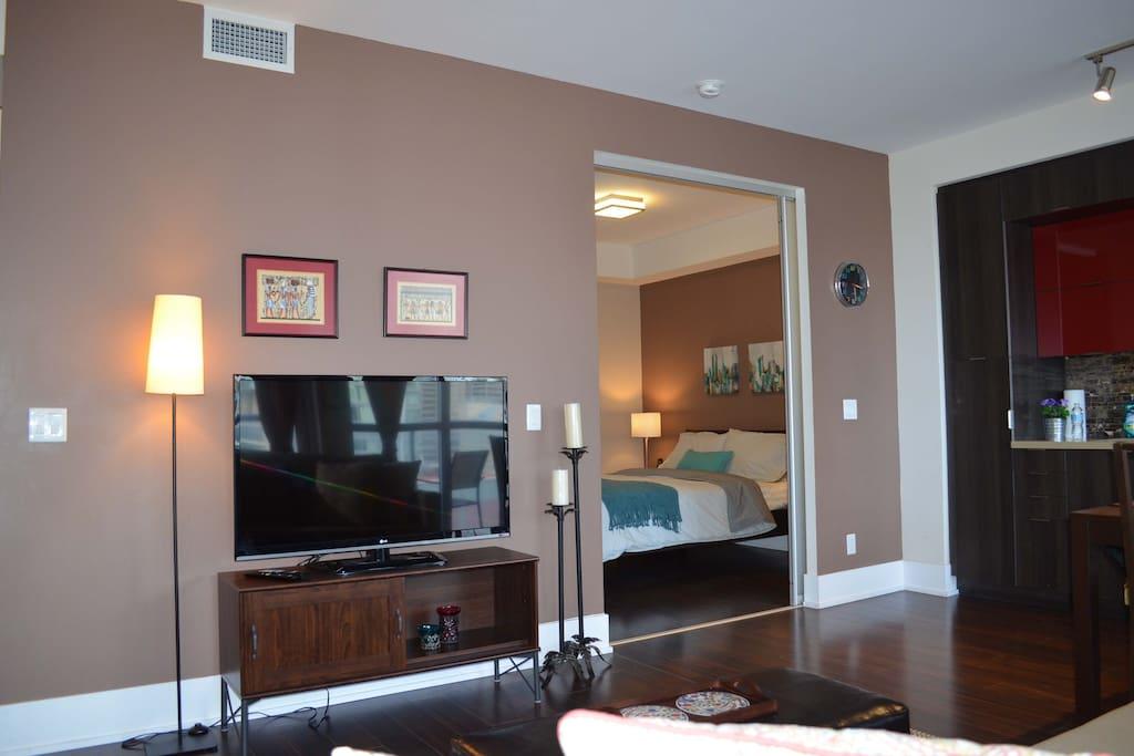 TV Lounge, Bedroom