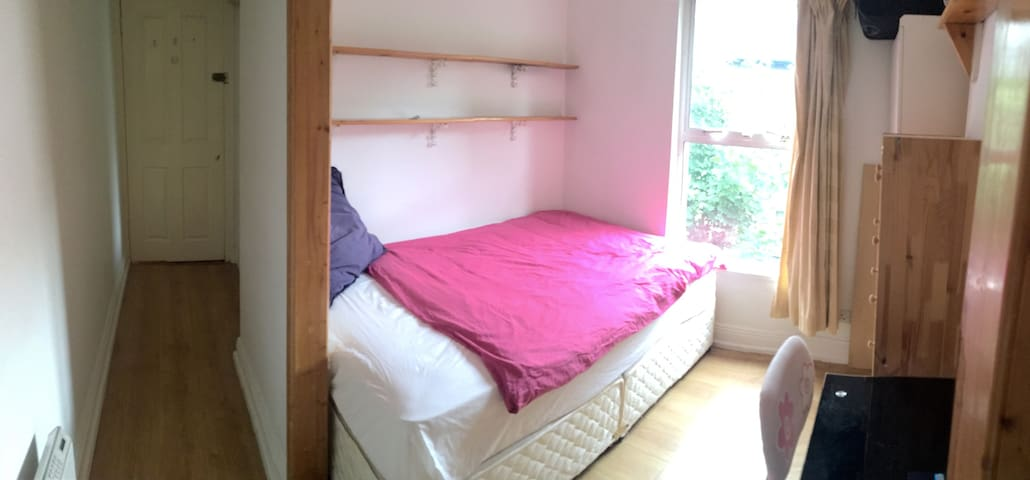 Bedroom+bathroom, private entrance, Dublin center