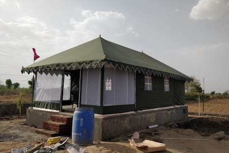 Farm stay with tent house
