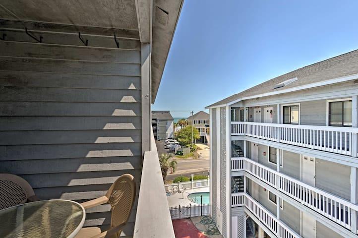 Enjoy ocean views from this 2-bedroom, 1-bathroom condo.