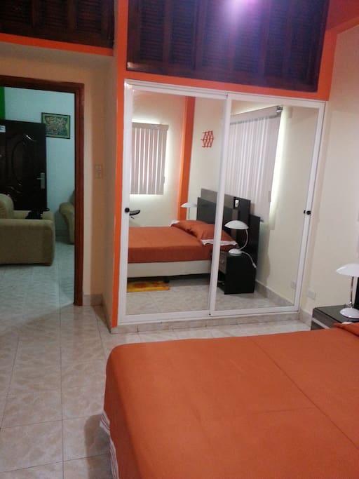 Vista de Dormitorio-Salón (Bedroom´s View)