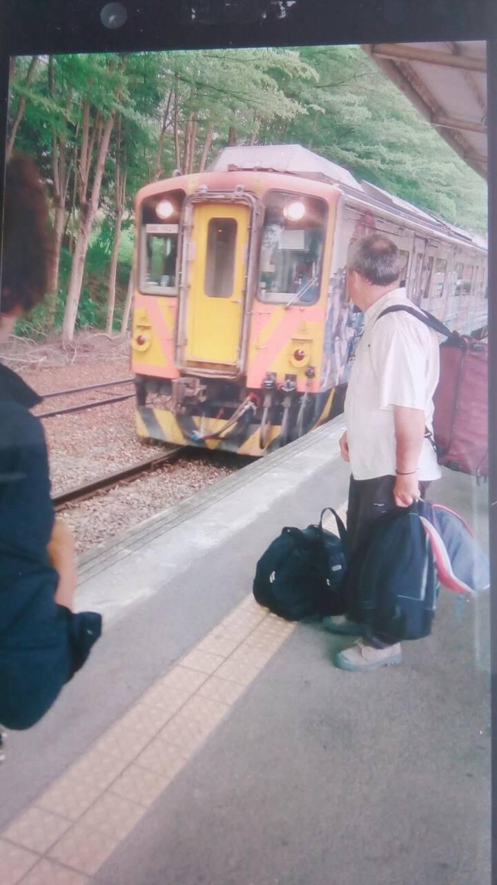 近日月潭,可住兩人,水里火車站* on your route to Yu Shan (環泰大旅社)