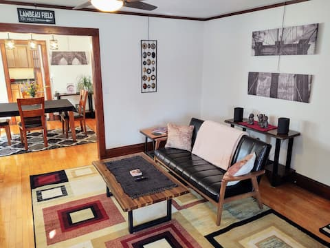 1 bdrm Private entry flat near Atwood neighborhood