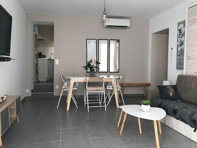 Appartement CLIMATISÉ  neuf  plein centre ville