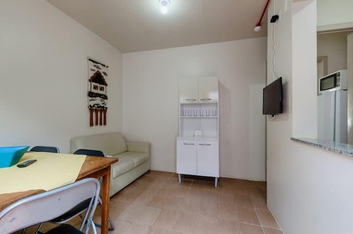 Praia Itapeva, Apartamento de 2 Quartos Térreo