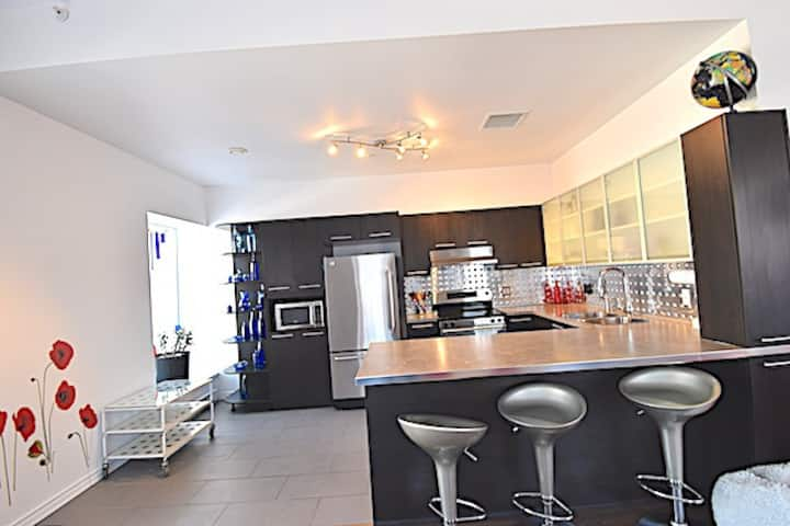 Huge condo in former convent in Limoilou