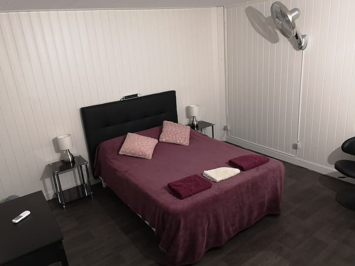 Chambre climatisée dans Villa près de Bastia (B2)