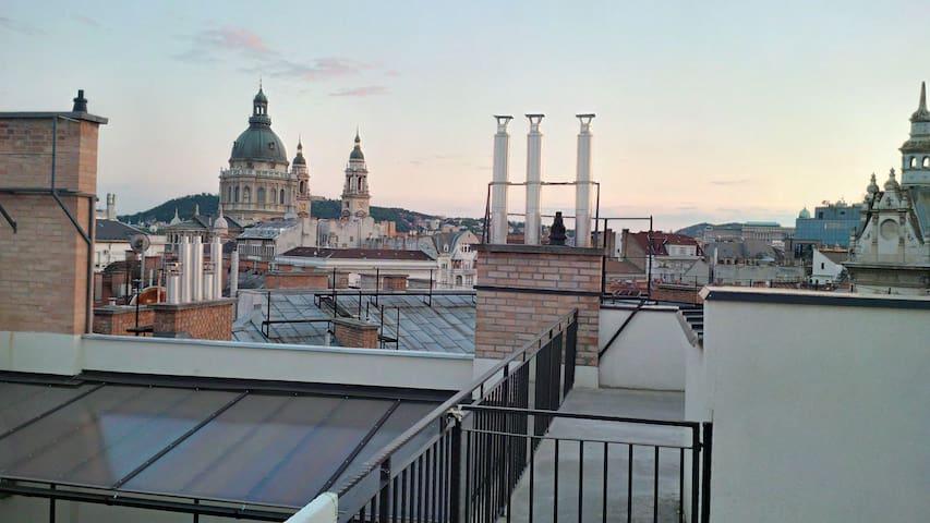 Rooftop Jacuzzi & Sauna / Luxury Penthouse